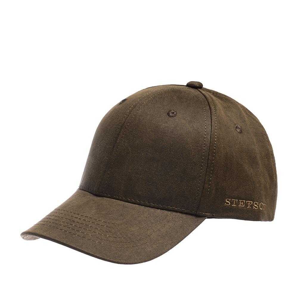 Бейсболка STETSON арт. 7711124 BASEBALL CAP (коричневый)