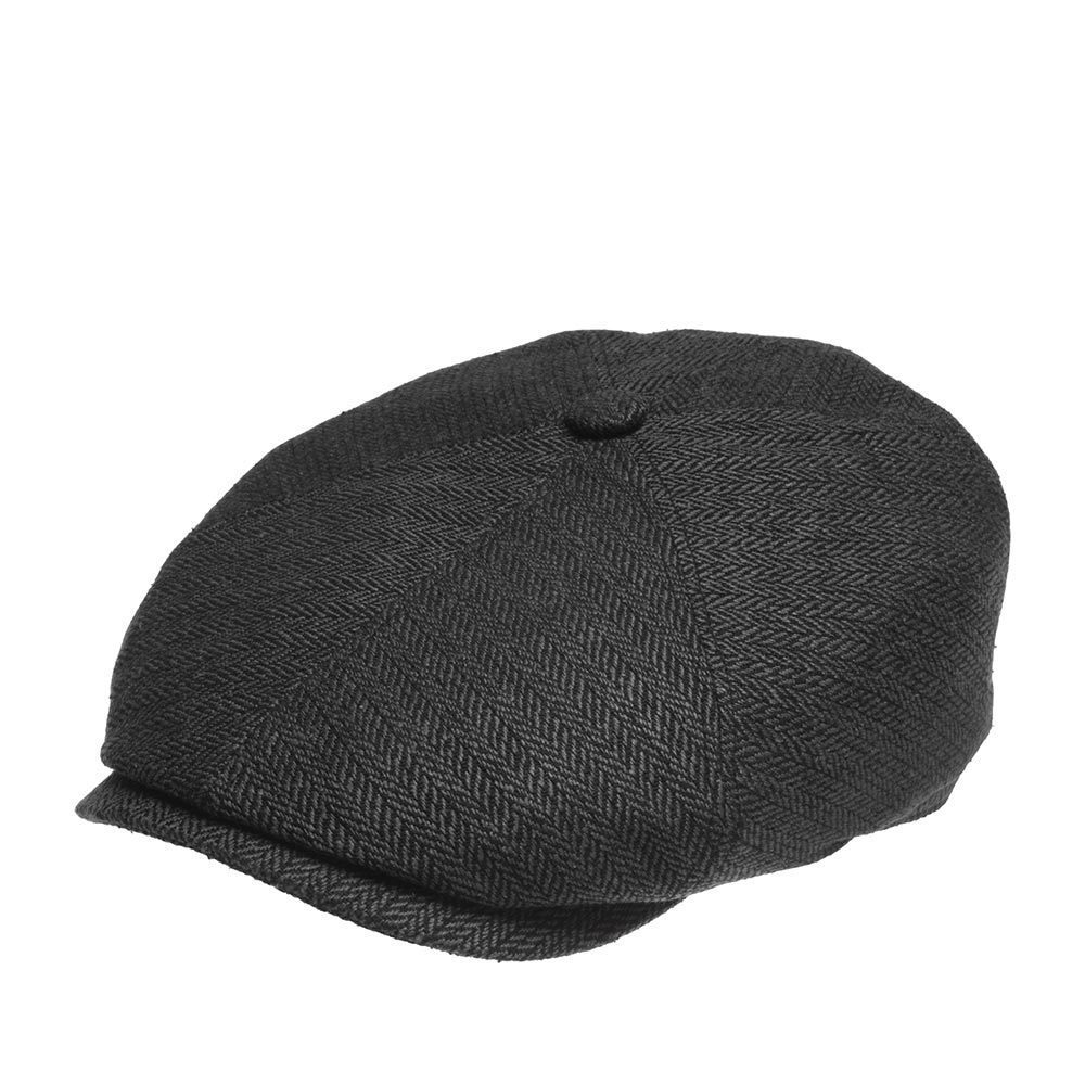 Кепка восьмиклинка STETSON 6642501 6-PANEL CAP SILK фото