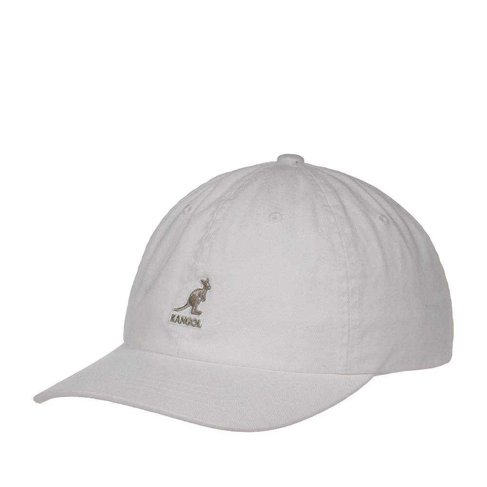Бейсболка KANGOL арт. K5165HT Washed Baseball (белый)