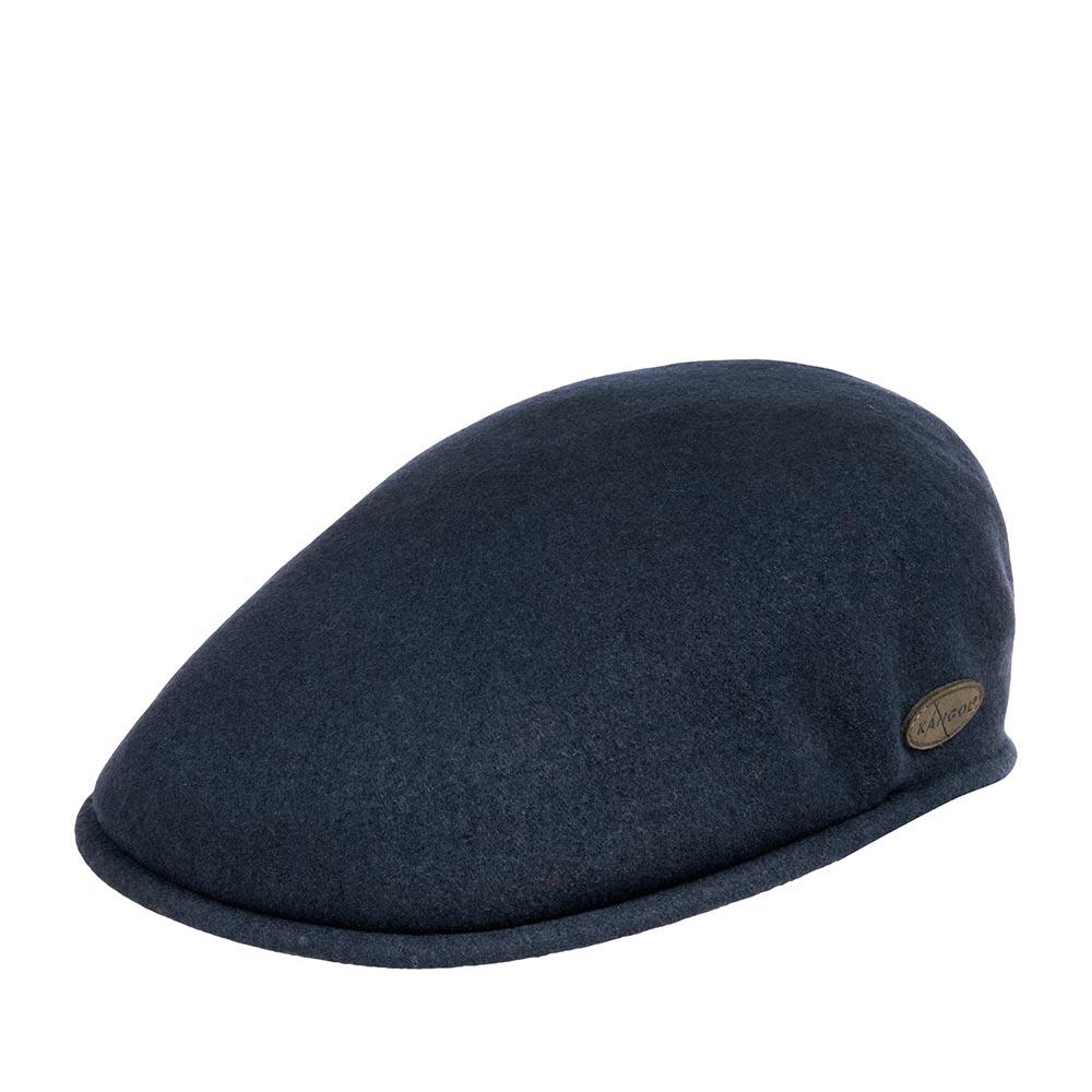 Кепка KANGOL арт. 0238KG Wool 504 Earlap (синий)