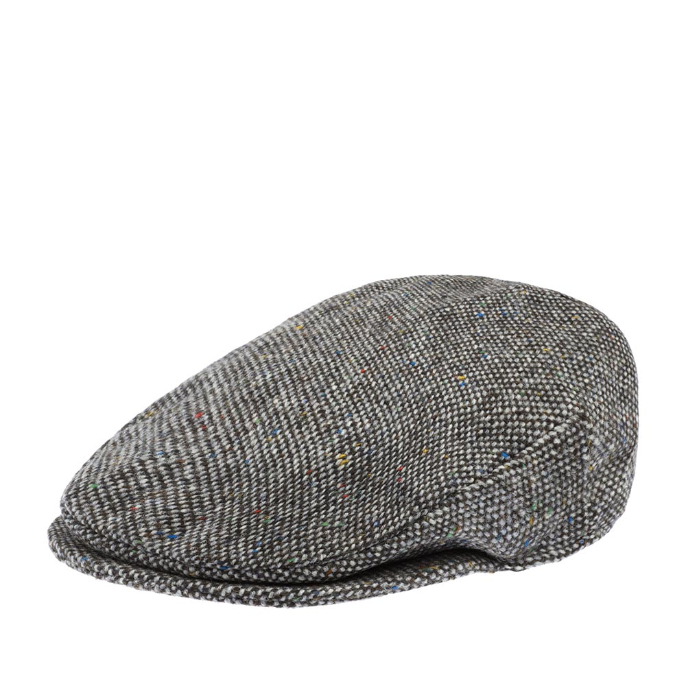 Кепка HANNA HATS арт. Vintage 77B2 (серый / черный)
