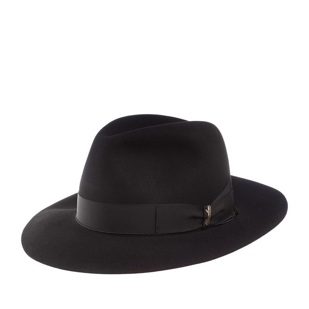 Шляпа федора BORSALINO.