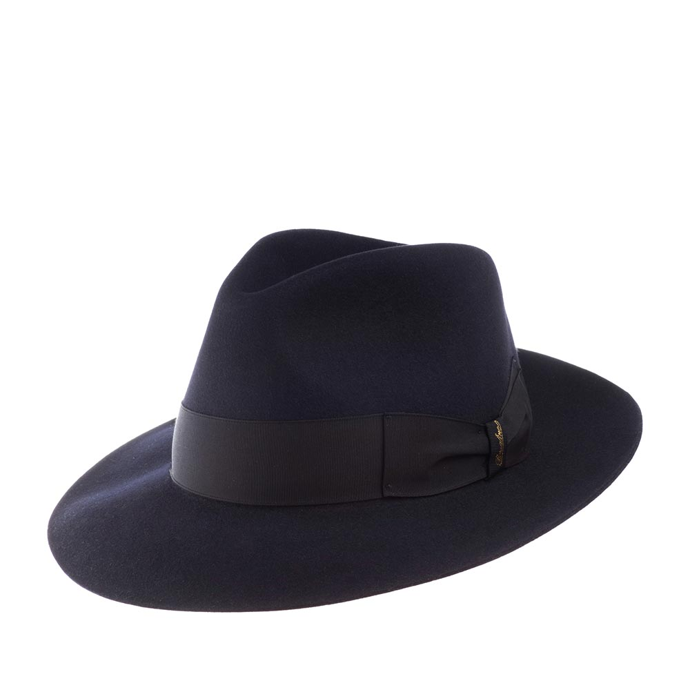 Шляпа федора BORSALINO 110836 ANELLO