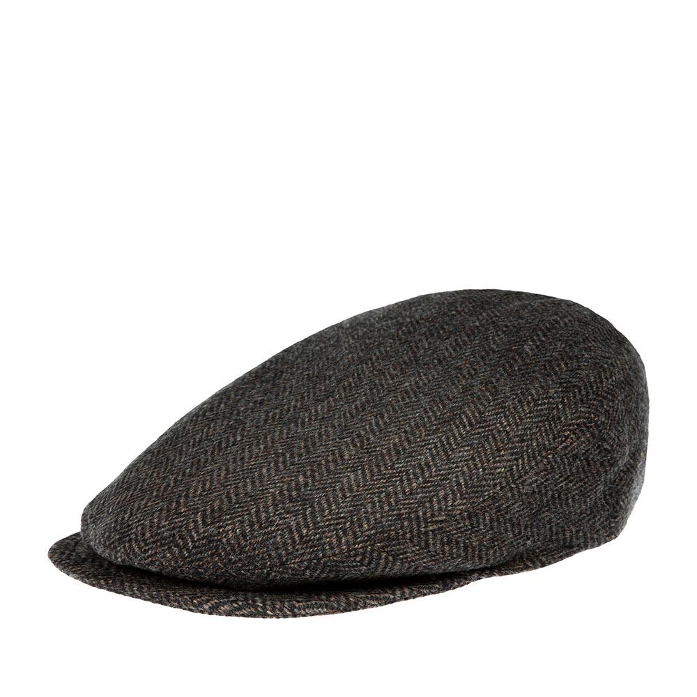 Кепка плоская BAILEYКепки<br>Lord – классическая плоская кепка реглан в коричнево-серую ёлочку, сшитая из мягкого шерстяного твида. Внутри имеет шёлковую подкладку, а по окружности вшита специальная лента для комфортной посадки на голову. Неизменный атрибут стиля и достоинства, кепку серии LORD отличает утончённая грация линий, непревзойдённое качество пошива на лучших Итальянских фабриках и высокая функциональность в любую погоду. Носите с удовольствием!