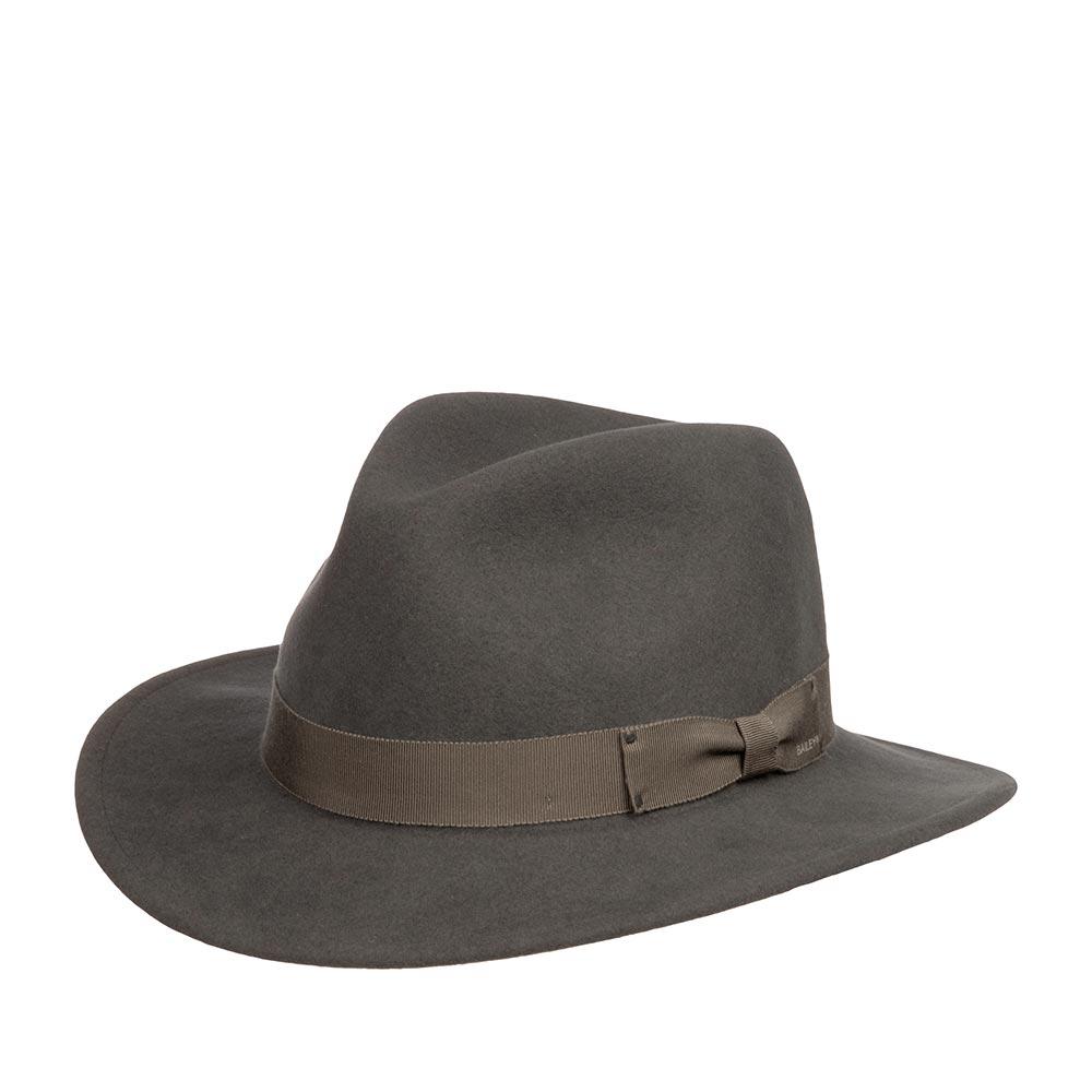 Шляпа BAILEY арт. 7005 CURTIS (темно-серый)