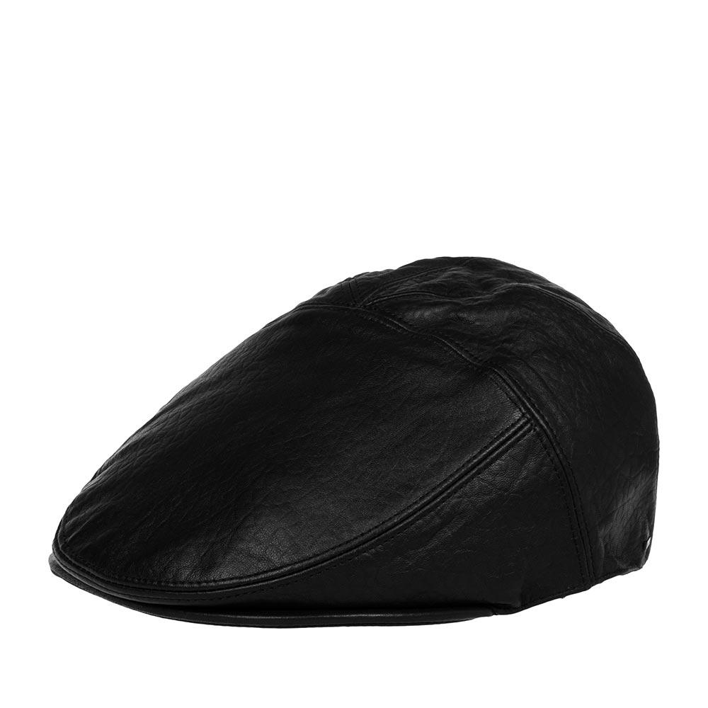 Кепка уточка BAILEYКепки<br>Langham – классическая кепка уточка черного цвета, сшитая из пяти клиньев мягкой высококачественной овечьей кожи. Сбоку украшена металлическим логотипом Bailey. Изогнутый козырёк также отделан кожей. Внутри имеется подкладка, а по окружности кепки пришита специальная лента для комфортной посадки на голову. Невероятно стильная, вечная модель на все времена. Причём, со временем кепка будет становиться всё лучше, по мере того, как вы её будете носить, она приобретёт определённую винтажную потёртость.