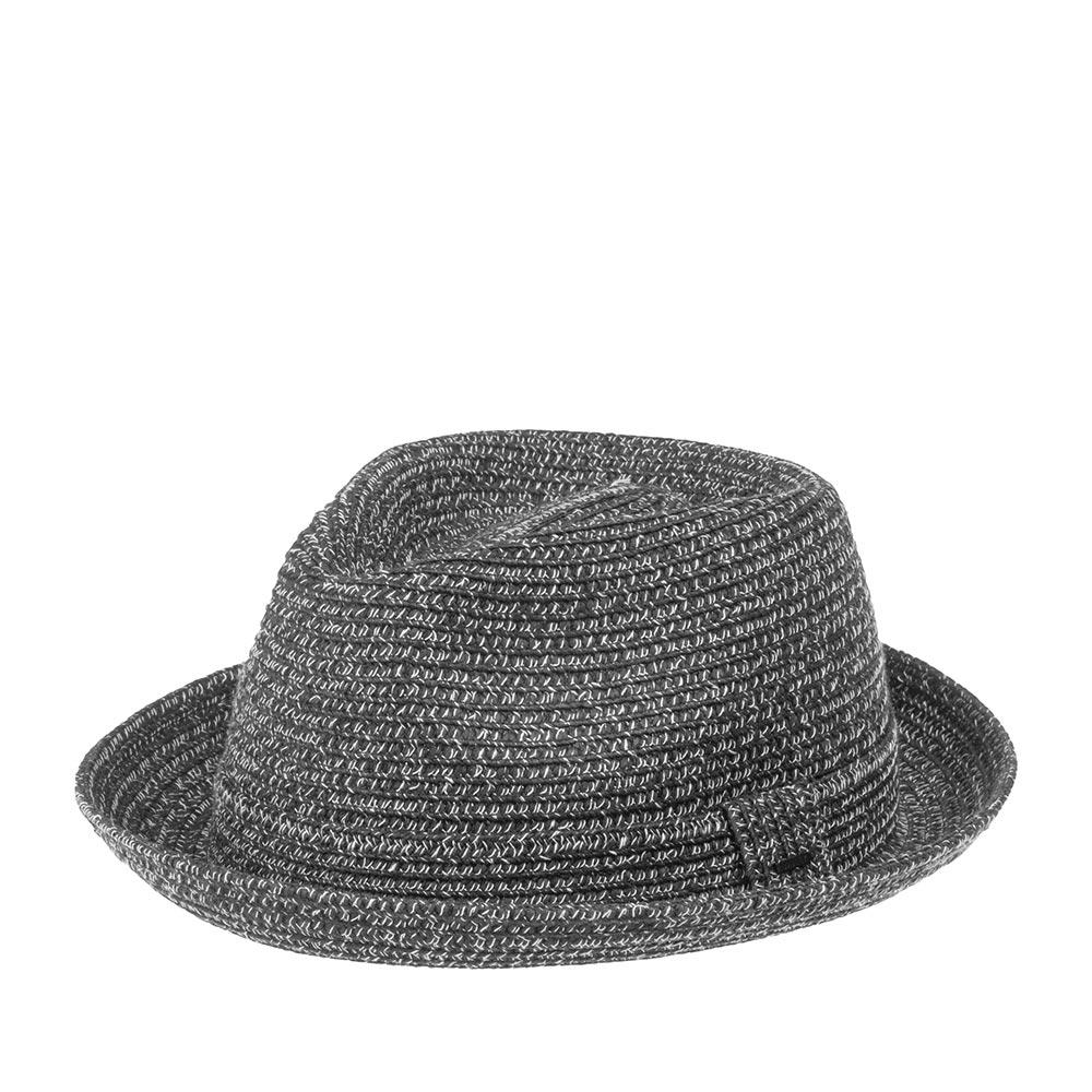 Шляпа хомбург BAILEYШляпы<br>Billy - универсальный, современный хомбург от мастеров шляпного дела Bailey. Это отличная модель для тёплого времени года, на каждый день, и для праздничного выхода. Мягкая, тонкая шляпа, с прекрасной посадкой на голову, короткими полями и ультрастильным фасоном хорошо подойдёт к любому овалу лица. Модель отлично держит форму и, вместе с тем, поля можно изгибать вверх и вниз, по желанию за счёт эластичного материала головного убора. Billy - летний аксессуар, он лёгкий и вентилируемый. Тулья украшена лентой из материала идентичного шляпе, с перетяжкой, которая отмечена маленькой скобкой с логотипом бренда Bailey. Внутри пришита лента. Высота тульи - 11,5 см, ширина полей - 4 см.