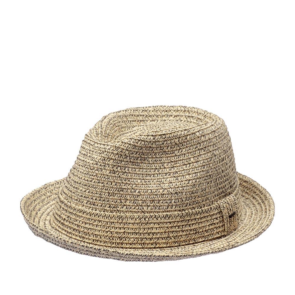 Шляпа хомбург BAILEYШляпы<br>Billy - универсальный, современный хомбург от мастеров шляпного дела Bailey. Благодаря летней расцветке - это отличная модель для тёплого времени года, и на каждый день, и для праздничного выхода. Мягкая, тонкая шляпа, с прекрасной посадкой на голову, короткими полями и ультрастильным фасоном хорошо подойдёт к любому овалу лица. Модель отлично держит форму и, вместе с тем, поля можно изгибать вверх и вниз, по желанию за счёт эластичного материала головного убора. Billy - летний аксессуар, он лёгкий и вентилируемый. Тулья украшена лентой из материала идентичного шляпе, с перетяжкой, которая отмечена маленькой скобкой с логотипом бренда Bailey. Внутри пришита лента. Высота тульи - 11,5 см, ширина полей - 4 см.