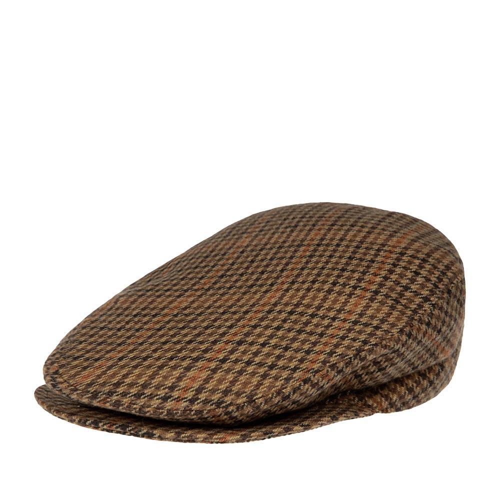 Кепка плоская BAILEYКепки<br>Lord – классическая плоская кепка реглан в коричневую клетку, сшитая из мягкого шерстяного твида. Внутри имеет шёлковую подкладку, а по окружности вшита специальная лента для комфортной посадки на голову. Неизменный атрибут стиля и достоинства, кепку серии LORD отличает утончённая грация линий, непревзойдённое качество пошива на лучших Итальянских фабриках и высокая функциональность в любую погоду. Носите с удовольствием!