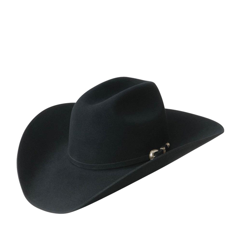 Шляпа ковбойская BAILEYШляпы<br>Frederick - ковбойская шляпа от Bailey для эффектного кантри и casual образа. Модель изготовлена в США из высококачественной шерсти с добавлением ангоры. Украшена тонким ремешком, из идентичного шляпе материала, с серебристой застёжкой. Поля головного убора классически изогнуты в U-образном ковбойском стиле, их передний край слегка наклонён вниз. Покорите Дикий Запад вместе с Frederick! У шляпы обрезной неотстроченный край полей - самый высокий признак качества фетра. Внутри имеет шелковистую подкладку и ленту, для самой удобной посадки на голову. Высота тульи: 12 см, ширина полей - 10 см