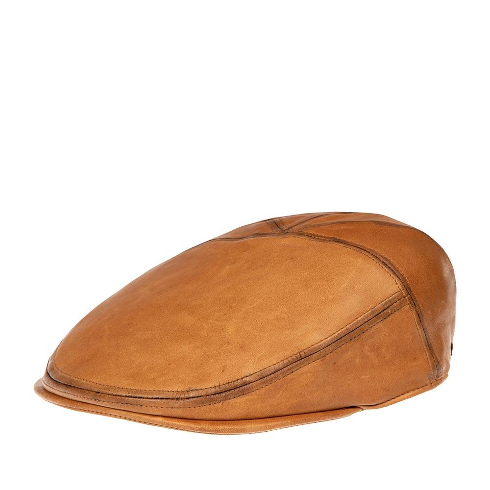 Кепка уточка BAILEYКепки<br>Glasby - стильная кепка уточка, сшитая из пяти панелей высококачественной кожи. Внутри пришита подкладка и лента для комфортной посадки на голову, сбоку - маленький деревянный значок Bailey. На создание этой кепки дизайнеров вдохновили стойкость и мужественность Дикого Запада и наследие вестерн культуры. Эта кепка комфортная, функциональная, для ежедневного ношения. Специально состаренная на вид кожа - это ода casual гламуру старого Голливуда. Нетривиальный цвет этого головного убора подчеркнёт Ваше чувство стиля, а глубокая посадка кепки позволит носить её с максимальным комфортом!