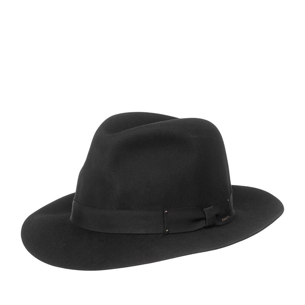 Шляпа BAILEY арт. 6140 DRAPER III (черный)