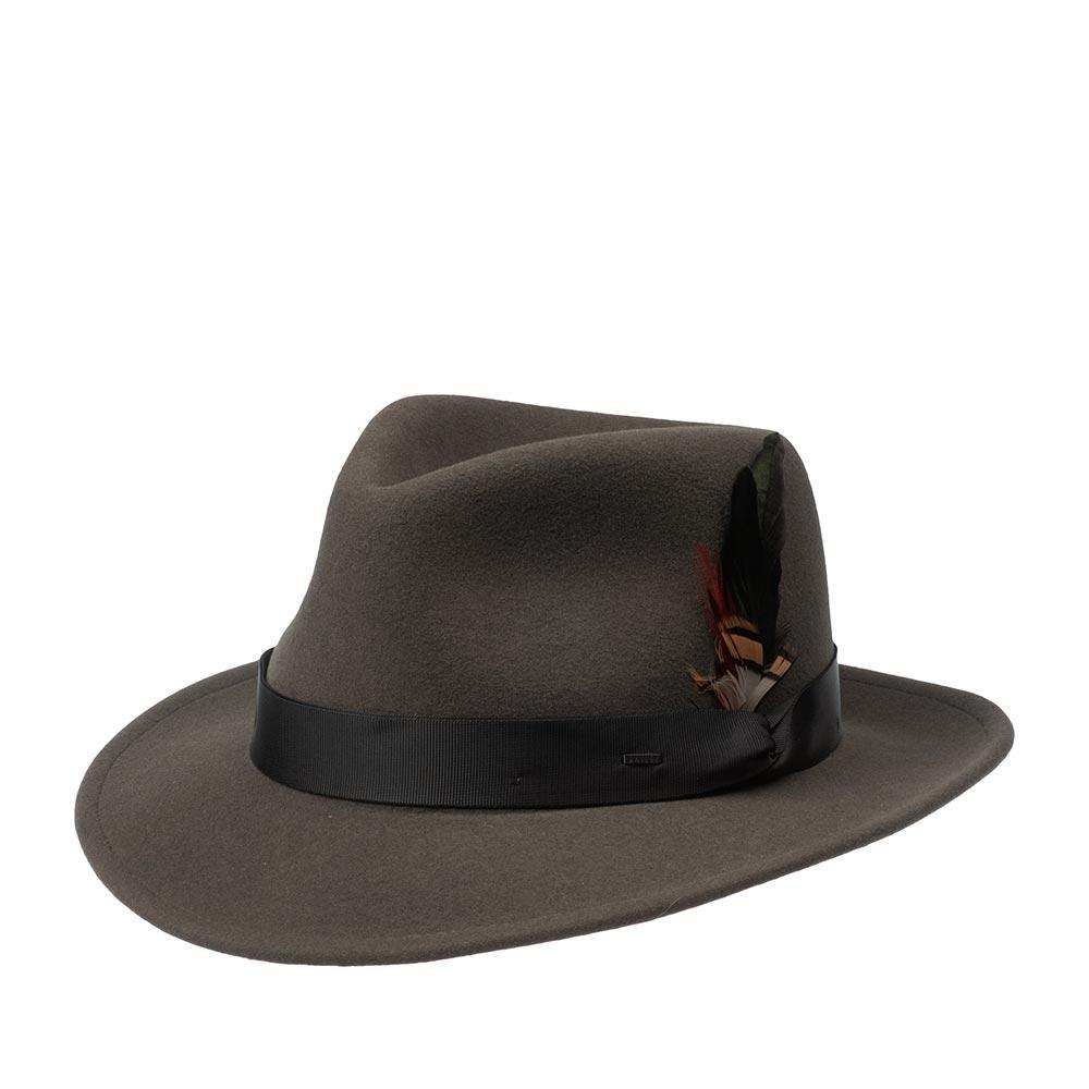 Шляпа BAILEY арт. 70644BH METRICK (темно-серый)