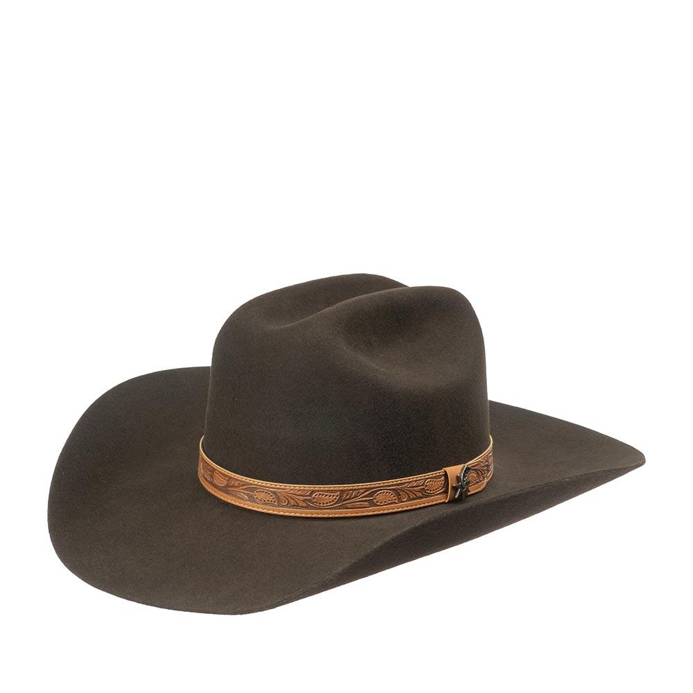 Шляпа ковбойская BAILEY W1802C RAMSEY фото