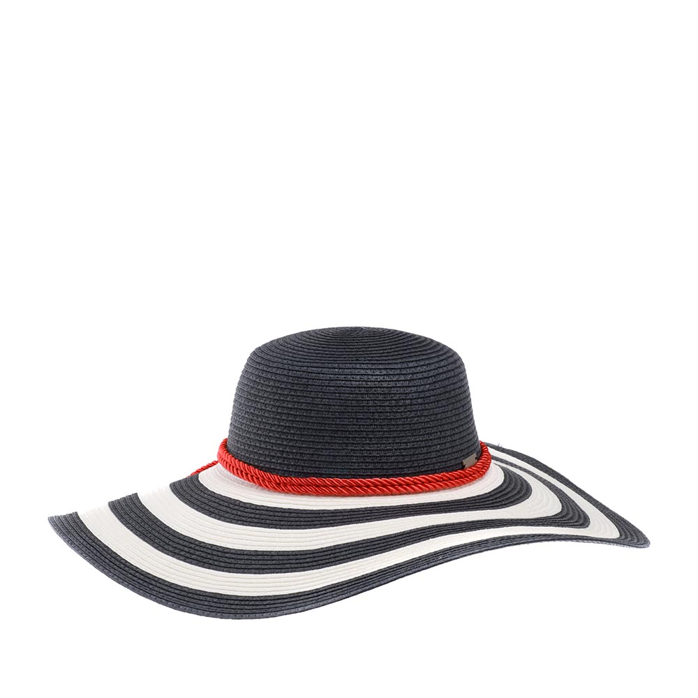 Шляпа BETMAR арт. B1431H DEMETRIA (белый / синий)