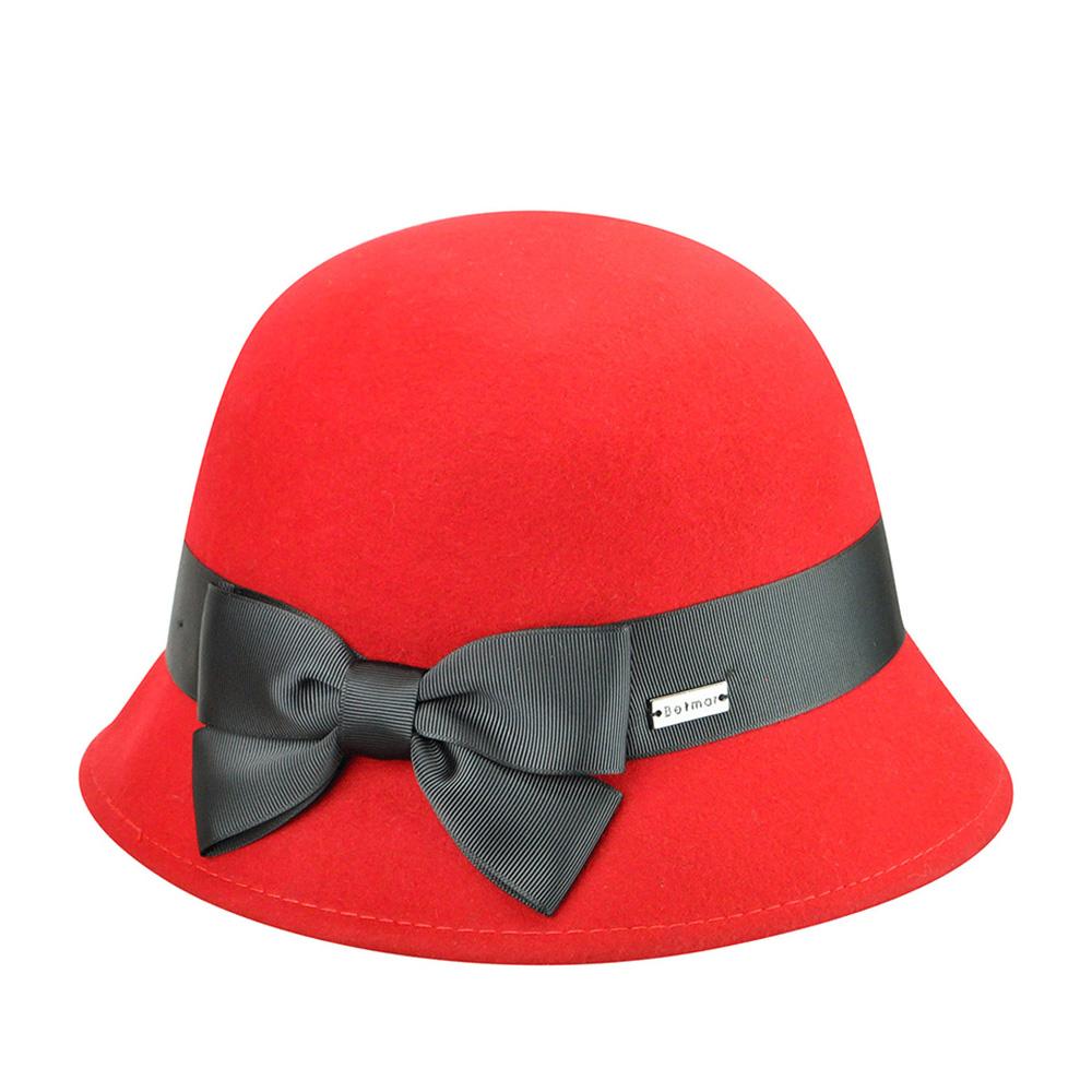 Шляпа BETMAR арт. B1639H EMMA (красный)
