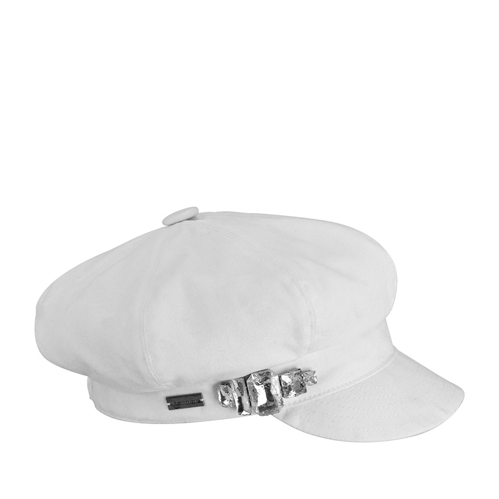 Кепка BETMAR арт. B1709H Rhinestop Cap II (белый)