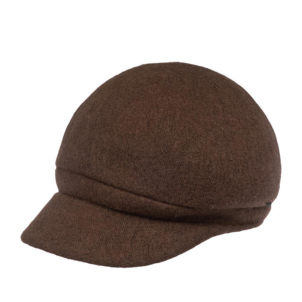 Кепка BETMAR арт. B1794H CRYSTAL CAP (коричневый)