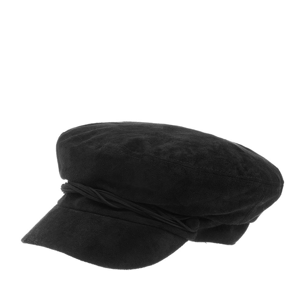 Кепка BETMAR арт. B1873H LIEUTENANT CAP (черный) {black}
