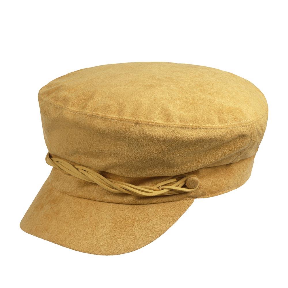 Кепка BETMAR арт. B1873H LIEUTENANT CAP (горчичный)