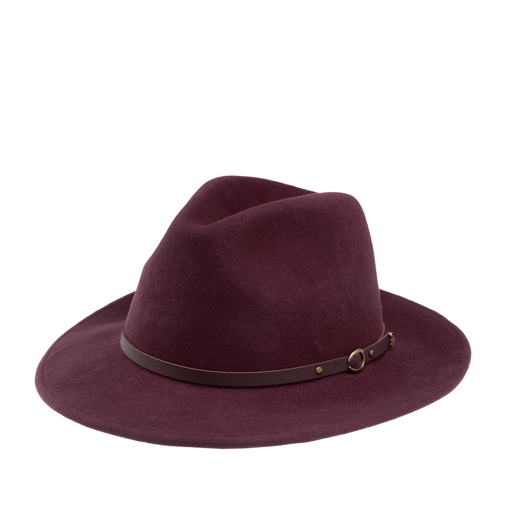 Шляпа CHRISTYS арт. CRUSHABLE SAFARI cwf100008 (бордовый)