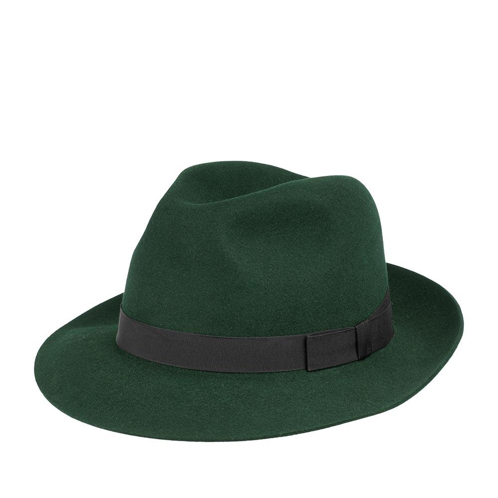 Шляпа CHRISTYS арт. EPSOM cso100009 (темно-зеленый)