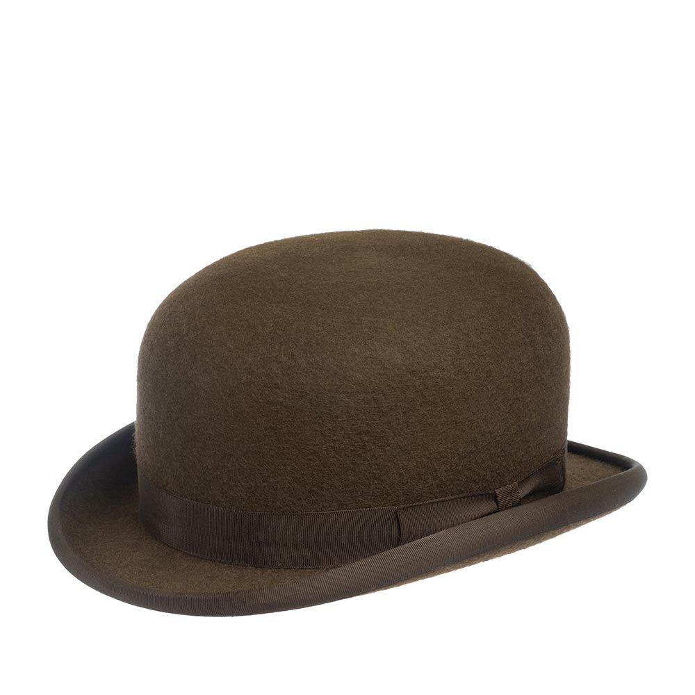 Шляпа котелок CHRISTYS WOOL FELT BOWLER cst100004 фото