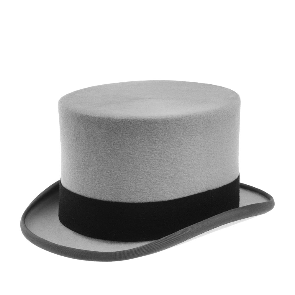 Шляпа цилиндр CHRISTYS WOOL FELT TOP HAT cst100006 фото