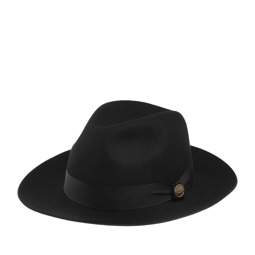 Шляпа CHRISTYS арт. HERITAGE GROSVENOR cwf100232 (черный)