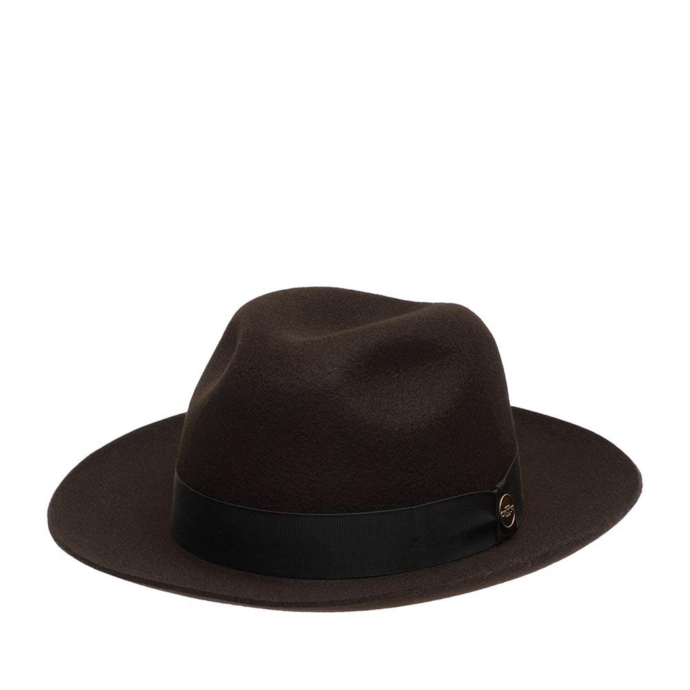 Шляпа CHRISTYS арт. HERITAGE GROSVENOR cwf100232 (коричневый)