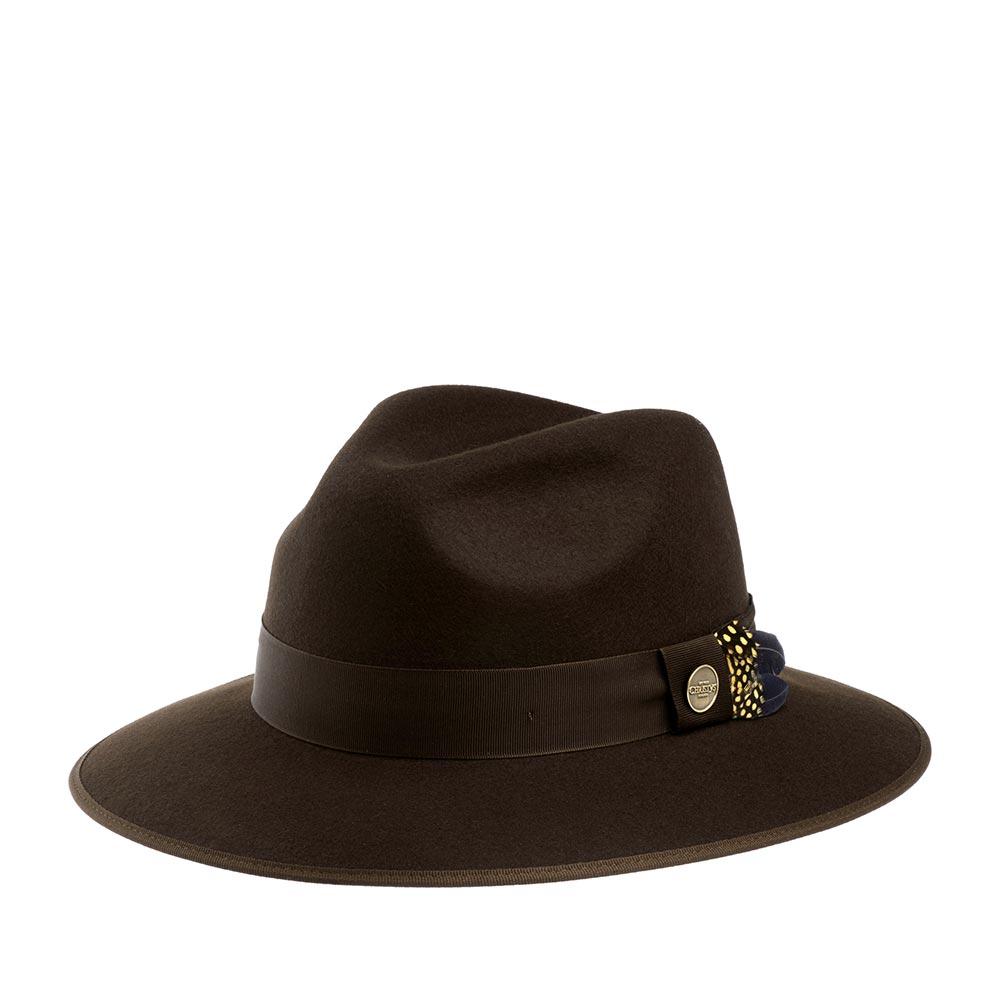 Шляпа CHRISTYS арт. WIDFORD cwf100235 (коричневый)