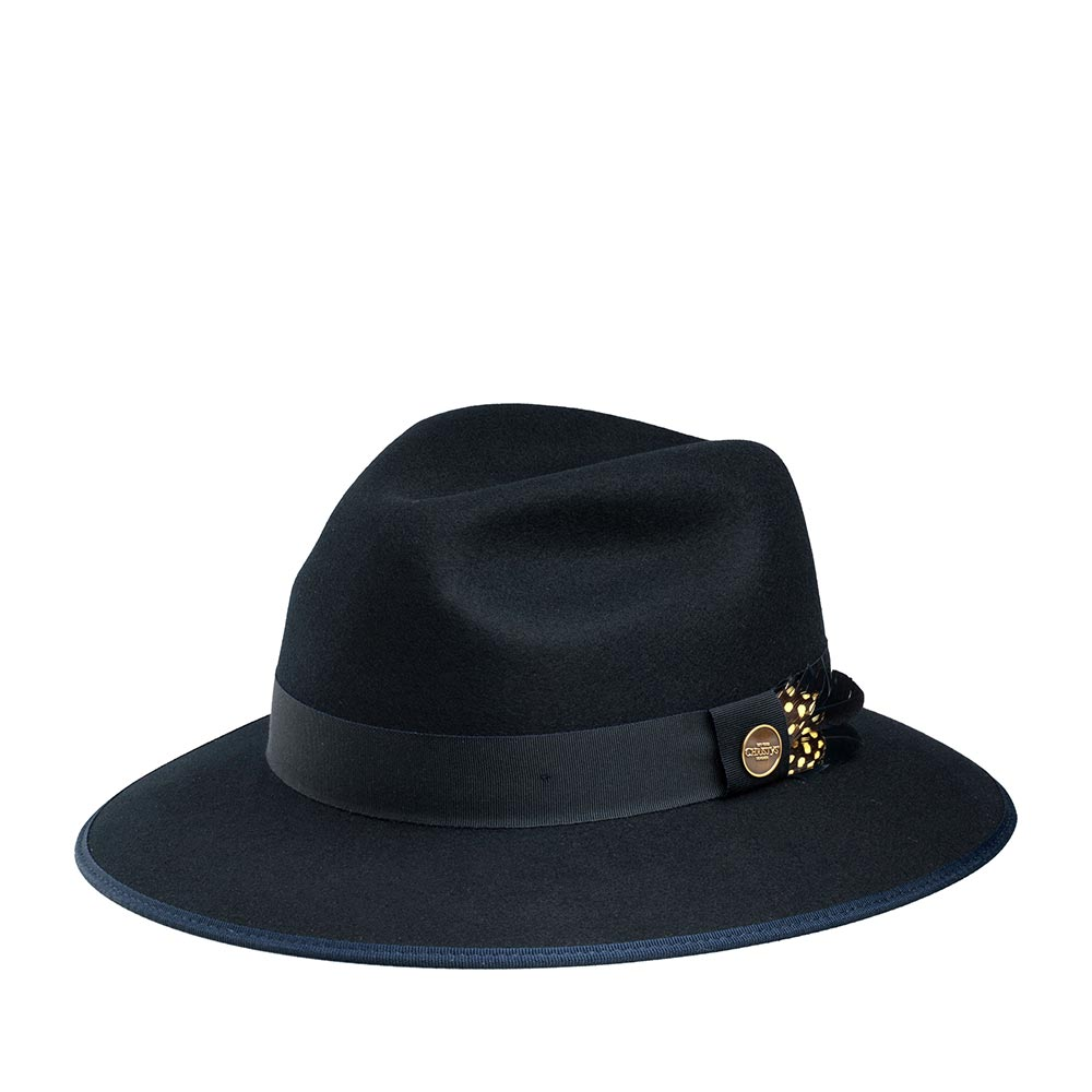 Шляпа CHRISTYS арт. WIDFORD cwf100235 (темно-синий)
