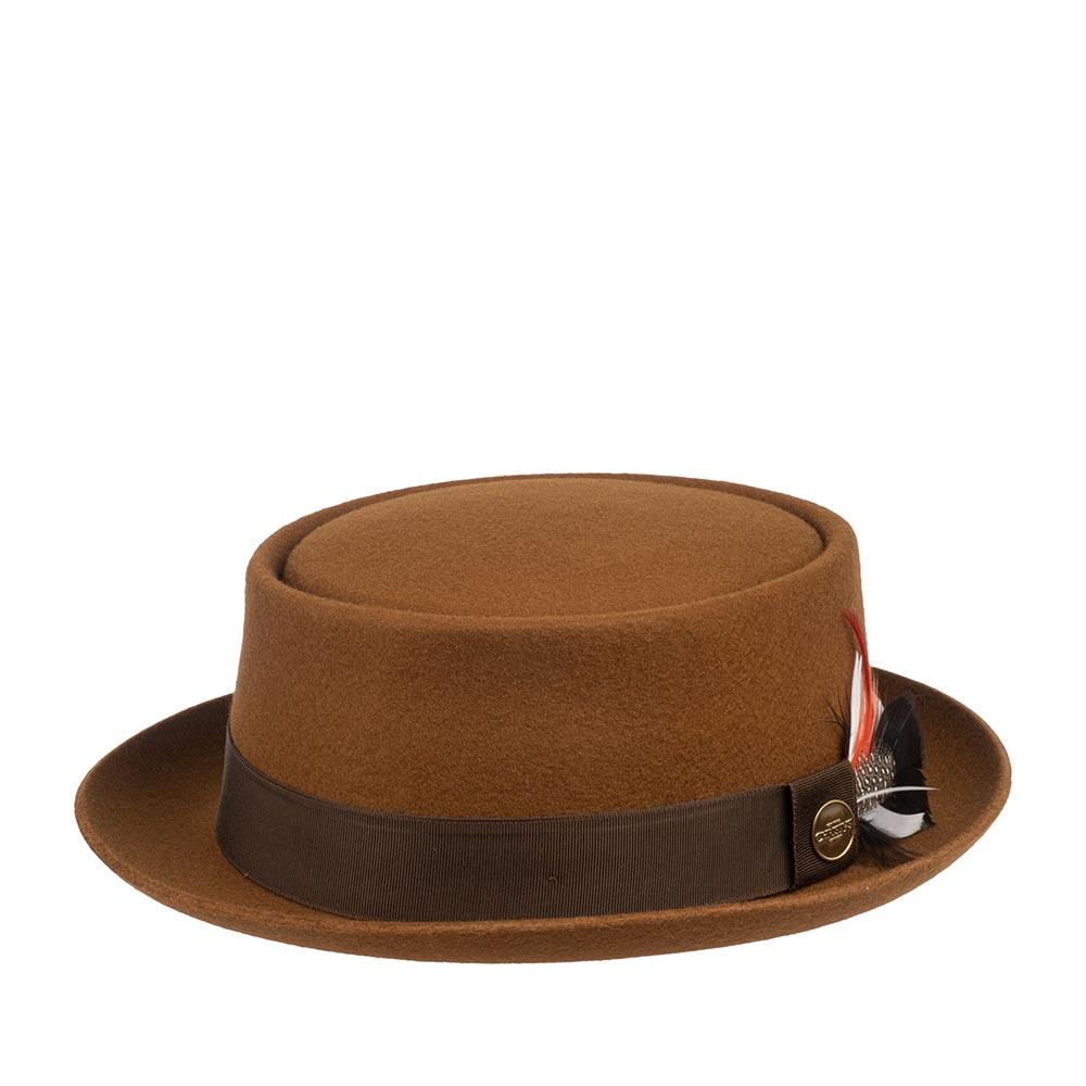 Шляпа CHRISTYS арт. HERITAGE PORK PIE cwf100233 (рыжий)