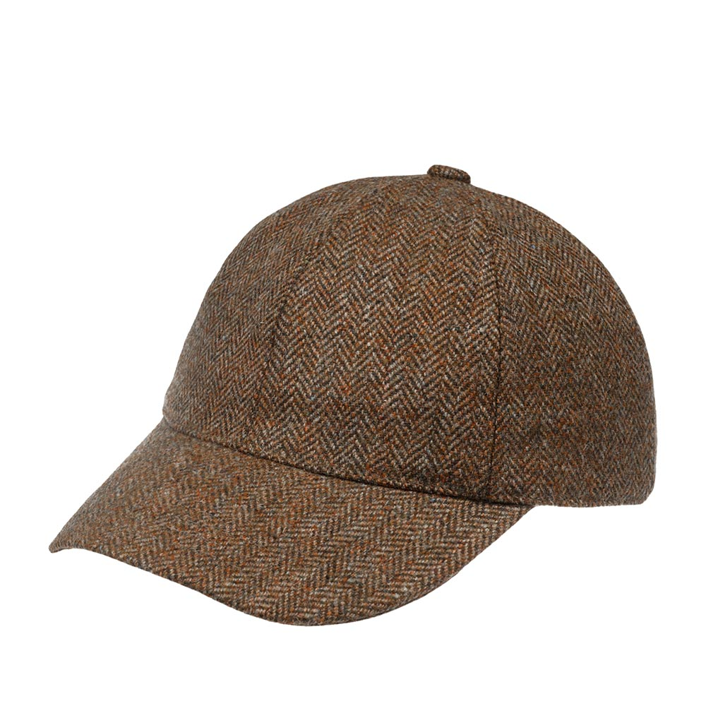 Бейсболка CHRISTYS арт. BASEBALL CAP csk100685 (коричневый)