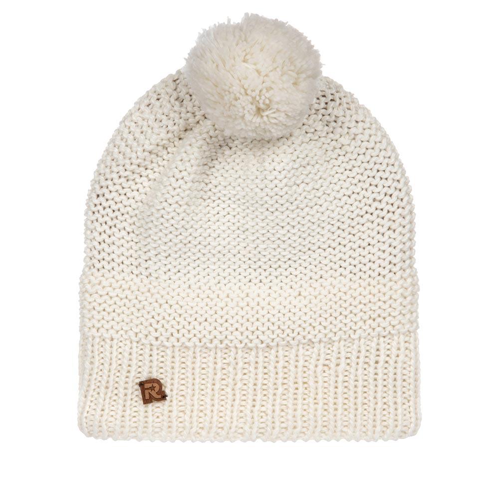 Шапка с помпоном R MOUNTAINШапки<br>Удлиненная шапка с помпоном и теплой подкладкой из мягкого плюша.