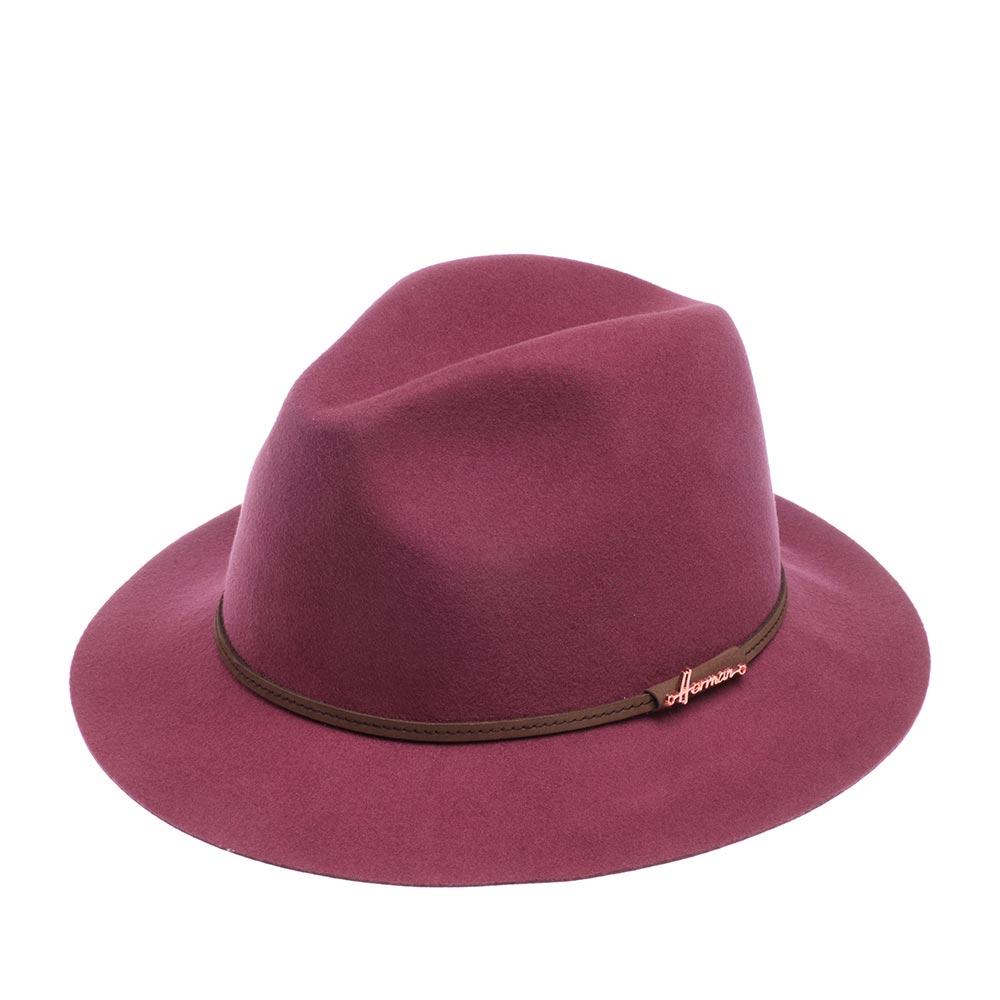 Шляпа федора HERMAN MAC SOFT фото
