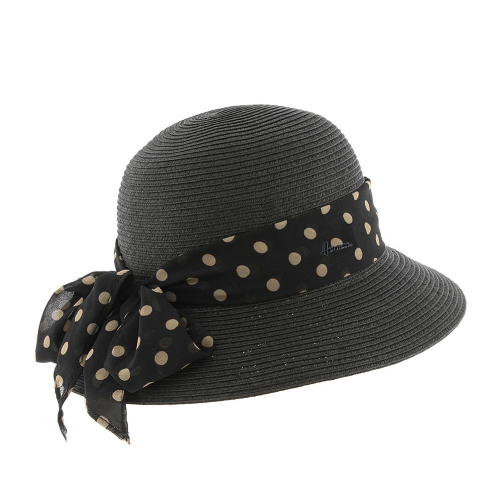 Шляпа HERMAN арт. QUEEN DELUCIA (черный)
