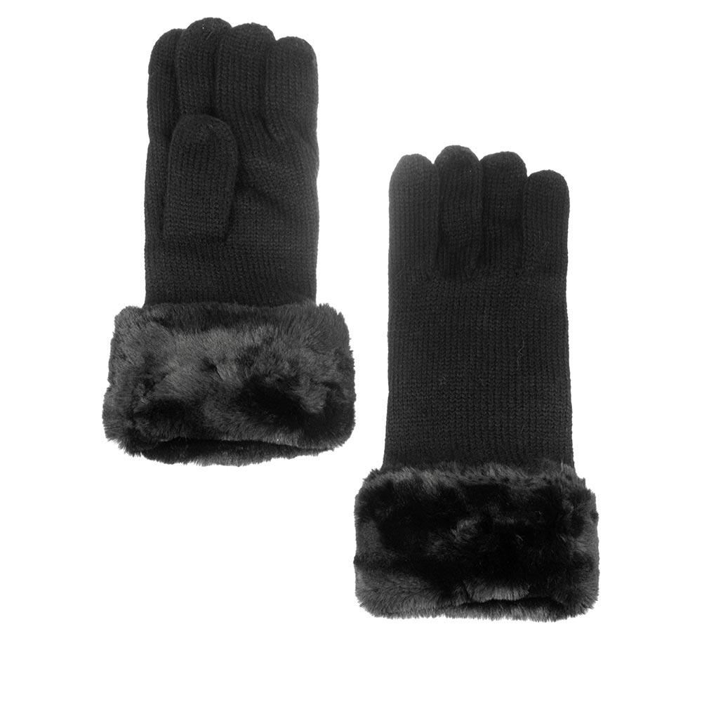 Перчатки HERMAN арт. PYROP 002 (черный)