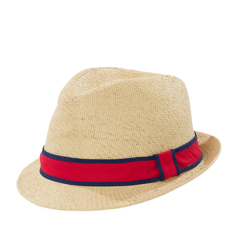 Шляпа трилби GOORIN BROTHERSШляпы<br>Killian - плетёная шляпа федора из коллекции GLORY с узкими полями и продольным заломом вдоль всей короны. Лёгкая и невероятно притягательная шляпа с яркой контрастной лентой. Универсальная модель для всего весенне-летнего сезона. Отлично подойдёт, как к стилю кэжуал, так и к вашему пляжному прикиду. Гарантируем замечательное летнее настроение.