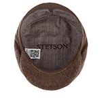 Кепка STETSON арт. 6380502 BELFAST WOOLRICH (темно-коричневый)