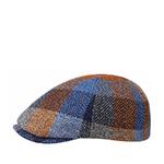 Кепка STETSON арт. 6620303 HIKO LAMBSWOOL (синий / оранжевый)