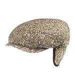 Кепка STETSON арт. 6840606 HATTERAS DONEGAL EF (серый / коричневый)