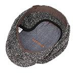 Кепка STETSON арт. 6840606 HATTERAS DONEGAL EF (серый / черный)