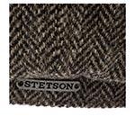 Кепка STETSON арт. 6860501 8-PANEL WOOLRICH (темно-серый)