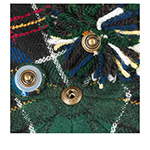 Кепка STETSON арт. 6890303 8-PANEL POMPON (зеленый / синий)