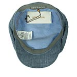 Кепка STETSON арт. 6433201 4-PANEL CAP LINEN (синий)