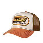 Бейсболка STETSON арт. 7751133 TRUCKER CAP RACING (коричневый) {6}