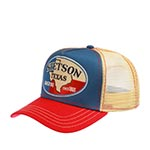 Бейсболка STETSON арт. 7751134 TRUCKER CAP TEXAS (синий / красный) {28}