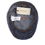 Кепка STETSON арт. 6170504 IVY HERRINGBONE (синий / серый)