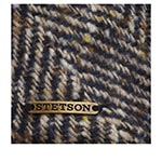 Кепка STETSON арт. 6170504 IVY HERRINGBONE (синий / бежевый)